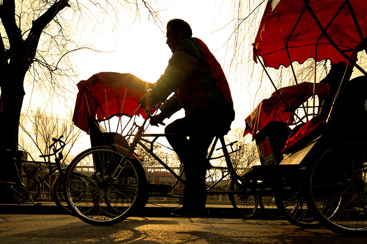 Rickshaw in Suzhou