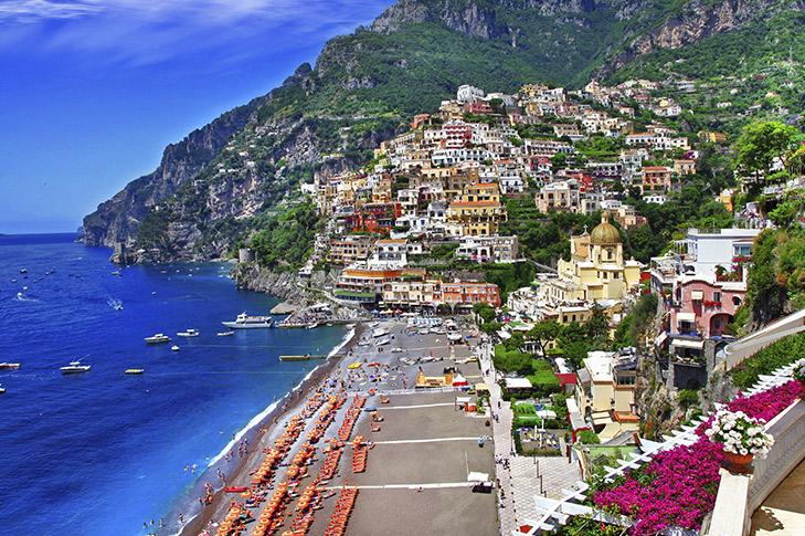 Amalfi coastline lunch