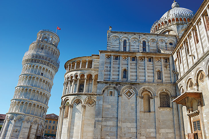 Pisa and Lucca