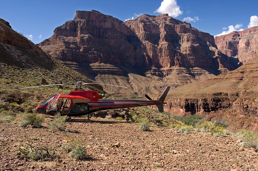 Las Vegas - Golden Eagle helicopter tour