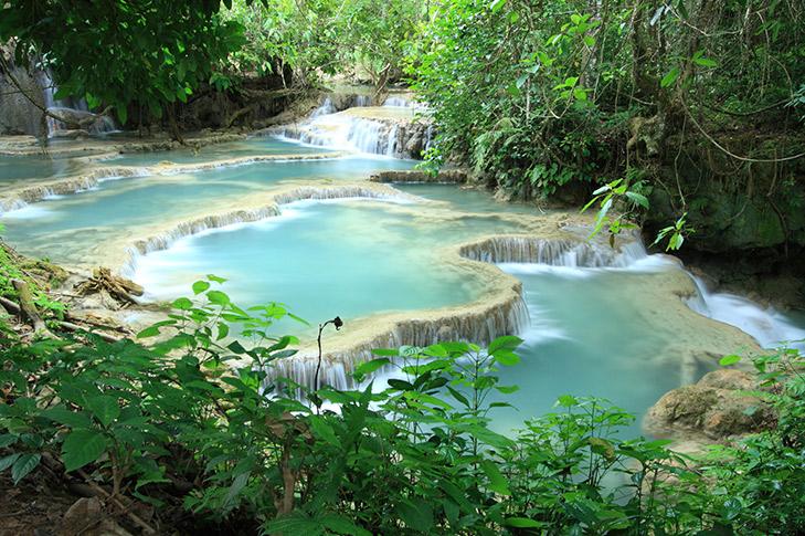 Luang Prabang - Kuang Si Waterfalls