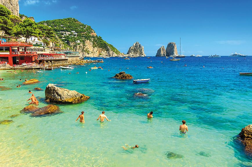The Glamorous Isle of Capri