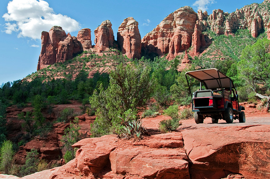 Sedona - Red Rock Jeeps