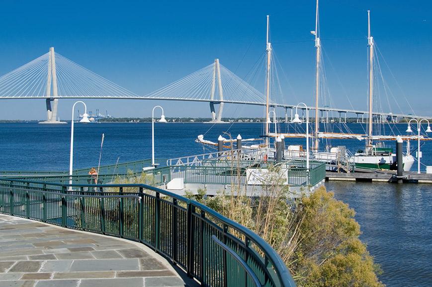 USA - Charleston Harbour cruise