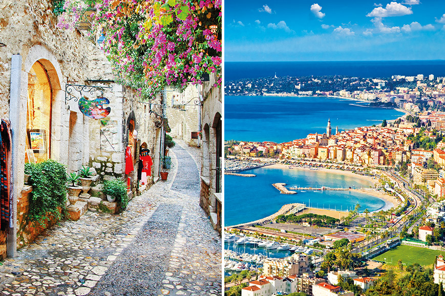 France Prebookable Package - St Paul de Vence and Antibes / San Remo and Hanbury Gardens