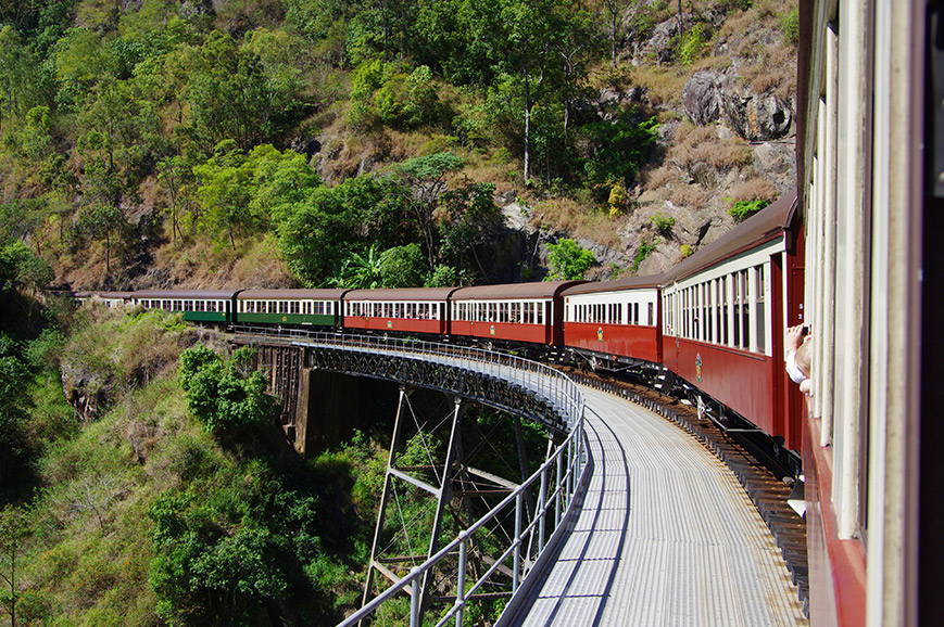 Kuranda Railway and Skyrail - Cairns