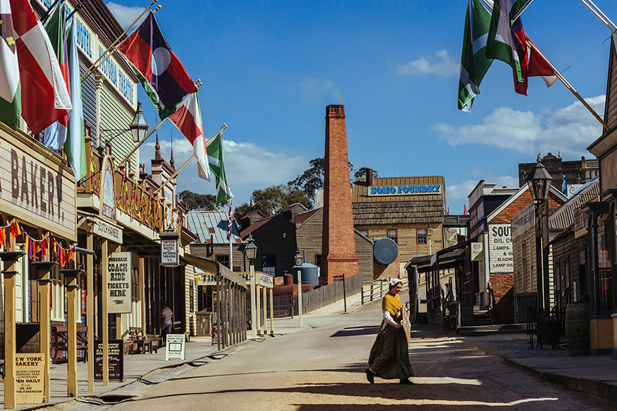 Australia - Sovereign Hill and Ballarat - Melbourne