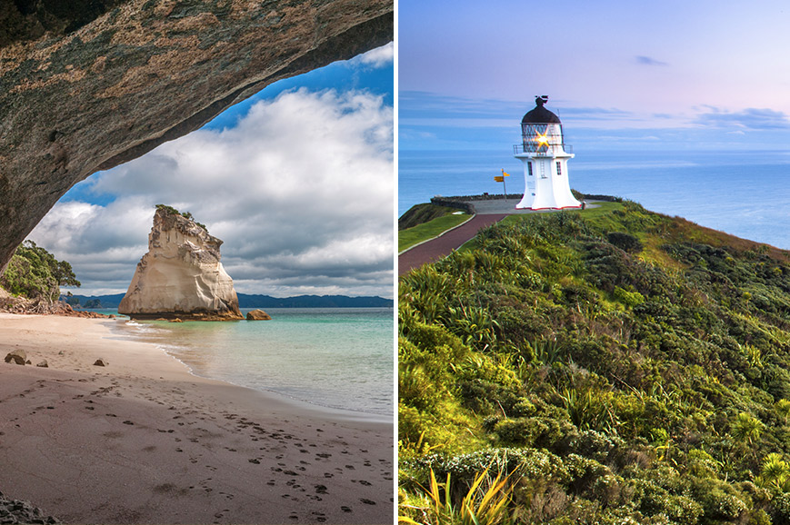 New Zealand - Cape Reinga and Cape Brett - Paihia - Dual Ticket - Prebookable Only