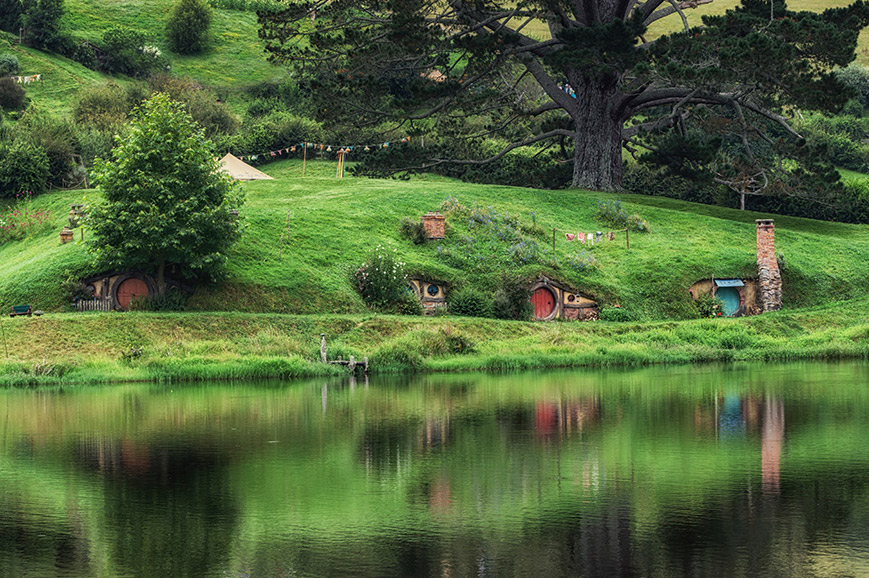 New Zealand - Hobbiton - Rotorua