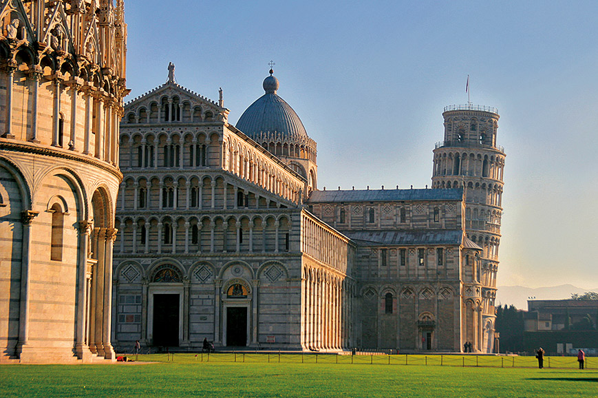 Italy - Pisa and Lucca