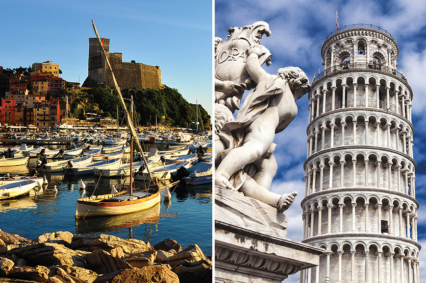 Italy Prebookable Package - Pisa and Lucca / Lerici and Portovenere
