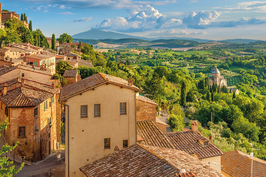 Siena and Tuscan Villages