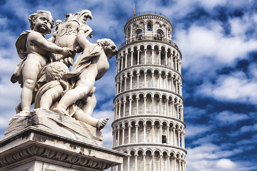 Italy - The Leaning Tower of Pisa