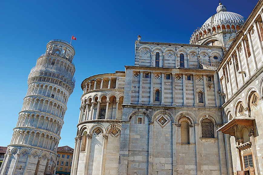 Italy - Pisa and its Leaning Tower