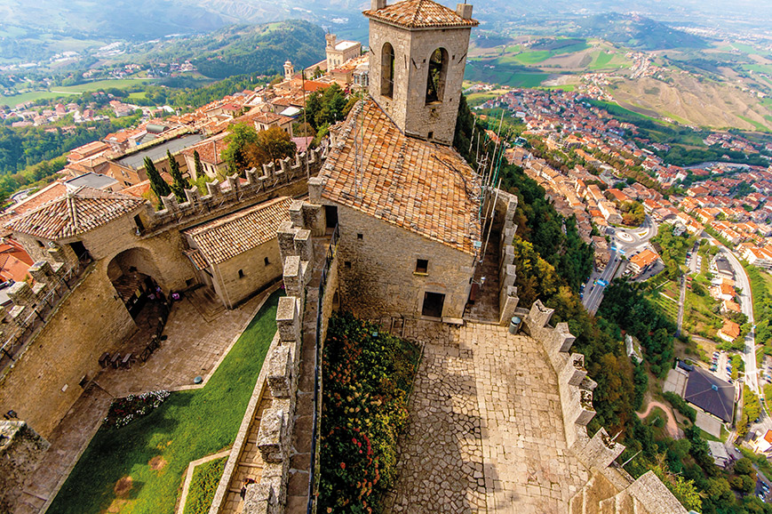Italy - San Marino and Wine Tasting
