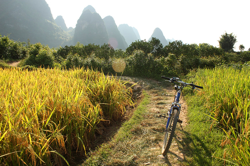 China - Yangshou countryside bicycle Tour