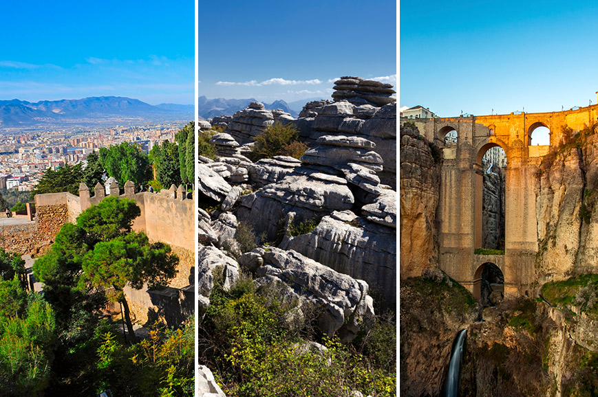 Spain Prebookable Package - Antequera, El Torcal and the Dolmens / Malaga / Ronda