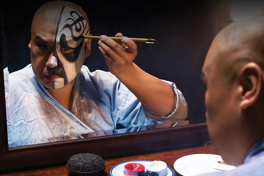 Chengdu Face Changing Show