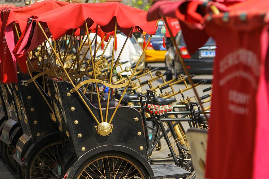 Beijing Hutongs and Rickshaw Ride