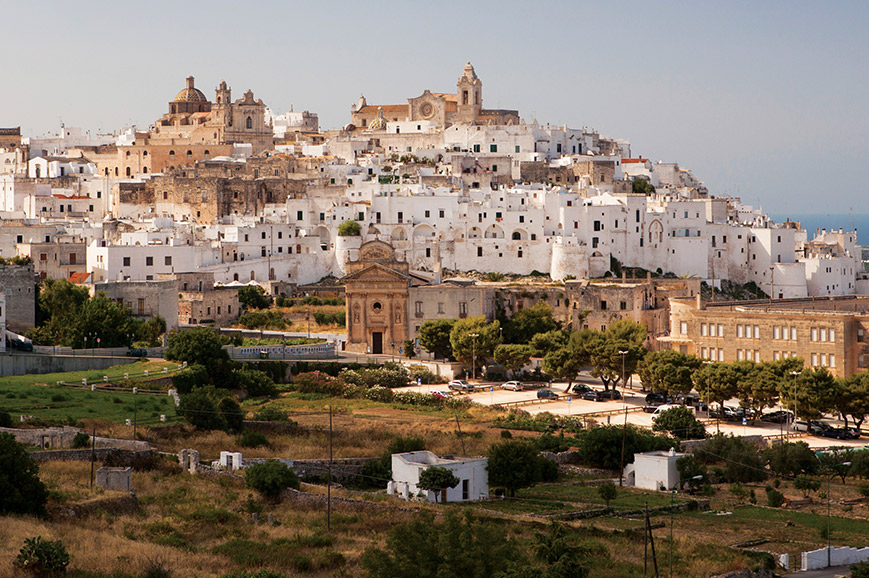 Italy - Ostuni and Olive Oil