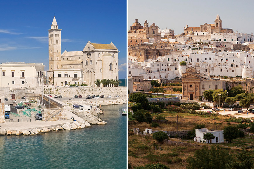 Italy Prebookable Package - Trani and Castel del Monte / Ostuni and Olive Oil