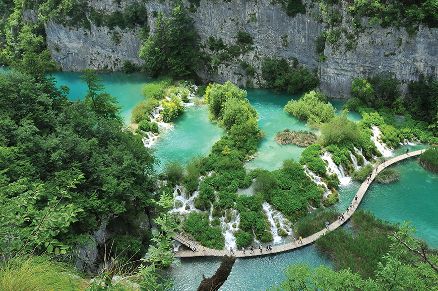 UNESCO Plitvice Lakes and National Park