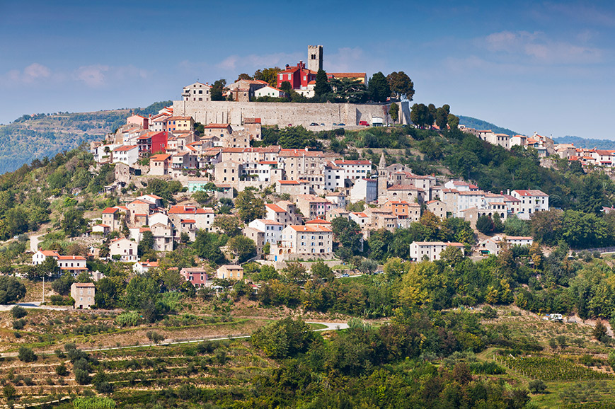 Croatia - Insights of the Istria region including Medieval Motovun