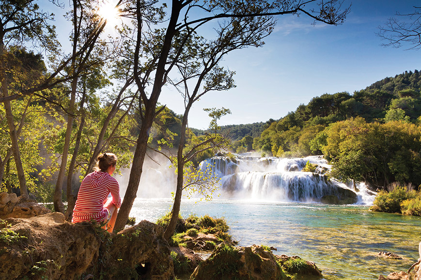 Captivating Krka National Park and Bibich Winery