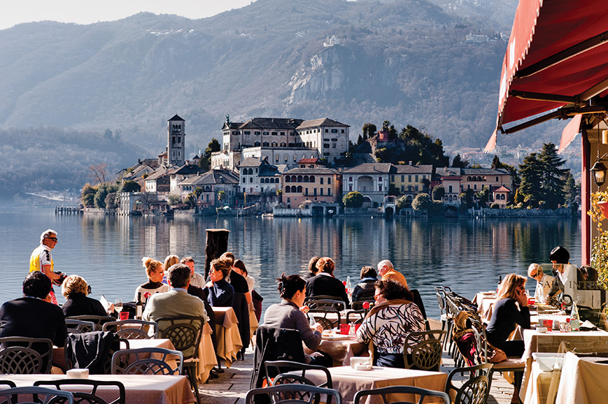 Italy - Lake Orta and Arona Market