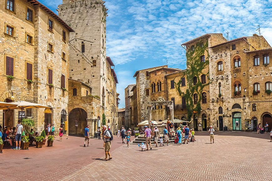 Italy - Charming Siena and San Gimignano