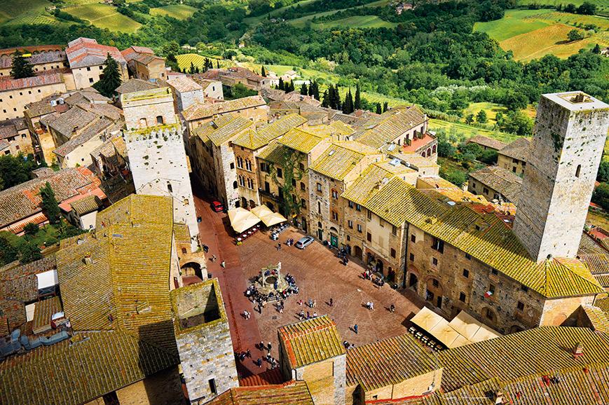 Stunning Siena and San Gimignano