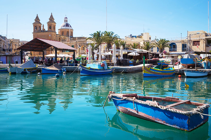 Blue Grotto and Marsaxlokk