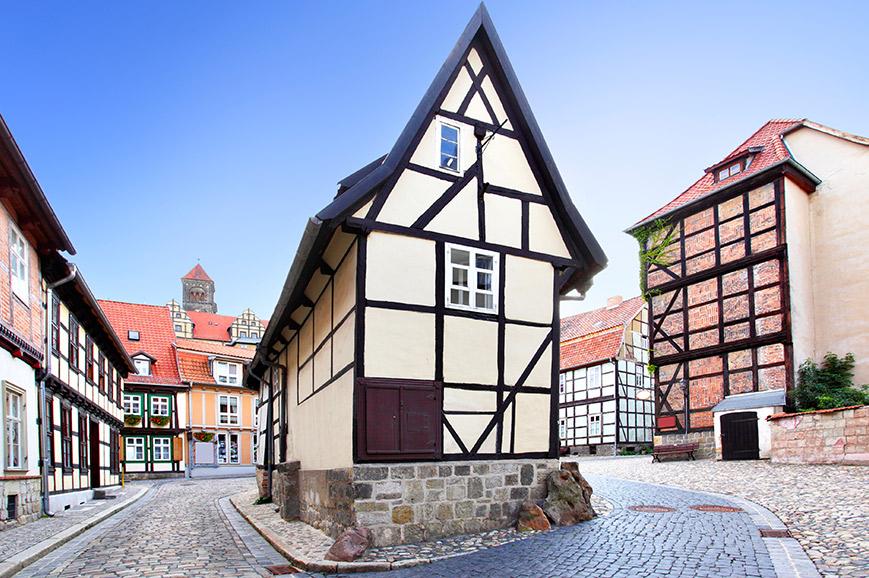 Quedlinburg and Goslar