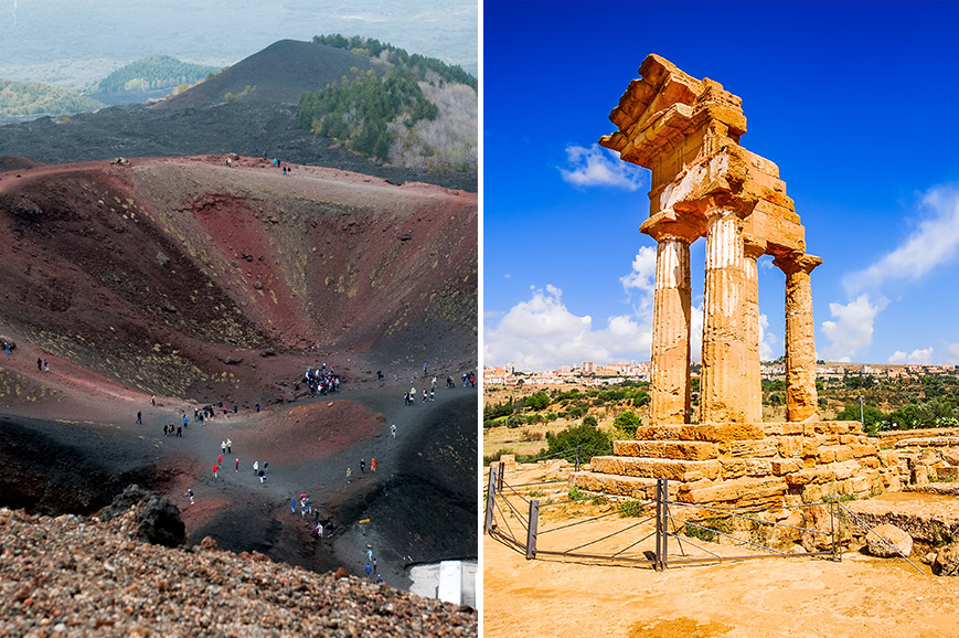 Italy Prebookable Package - The ancient town of Agrigento / Mount Etna experience