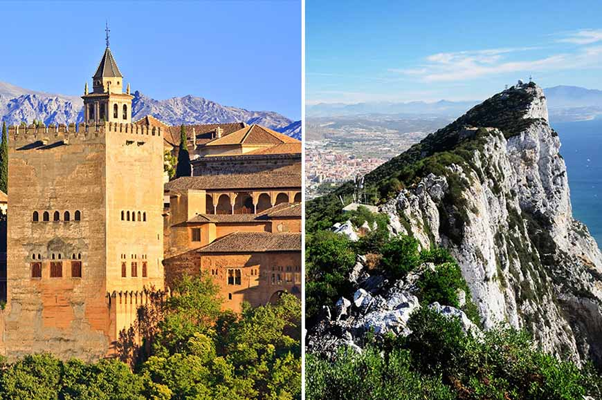 Spain Prebookable Package - The Alhambra Palace / Gibraltar