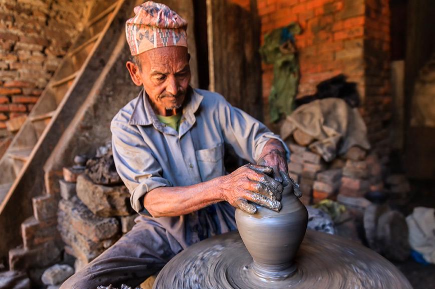 Nepal - Pottery Making
