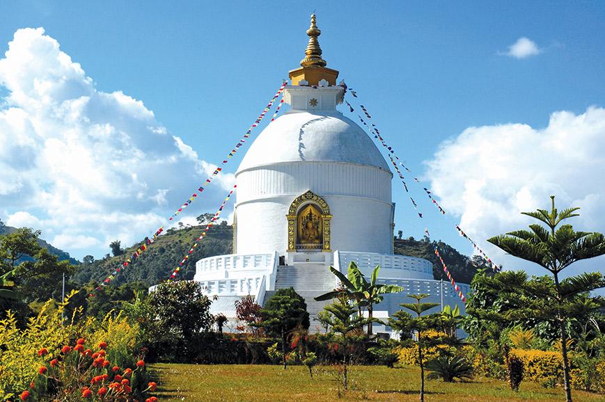 Nepal - Peace Stupa Walk