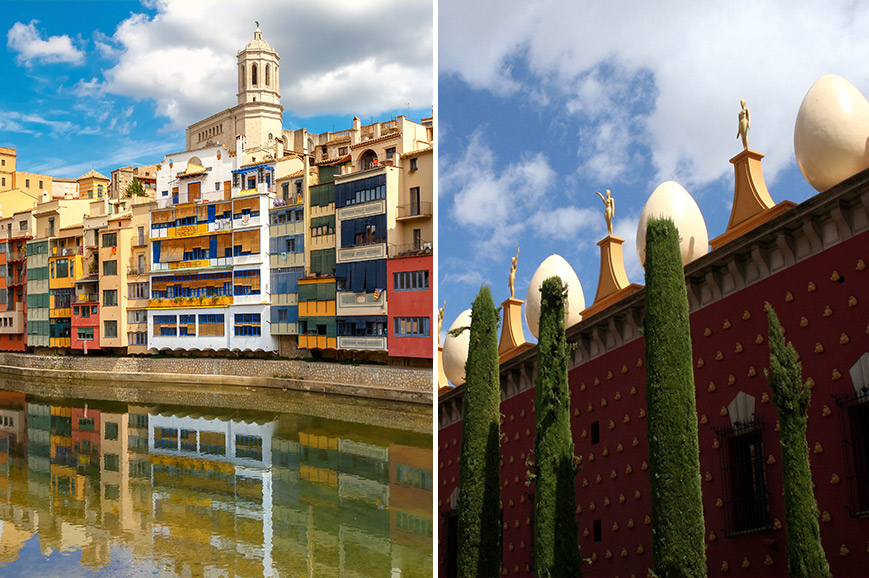 Spain Prebookable Package - Figueres and Rosas / The historic city of Gerona