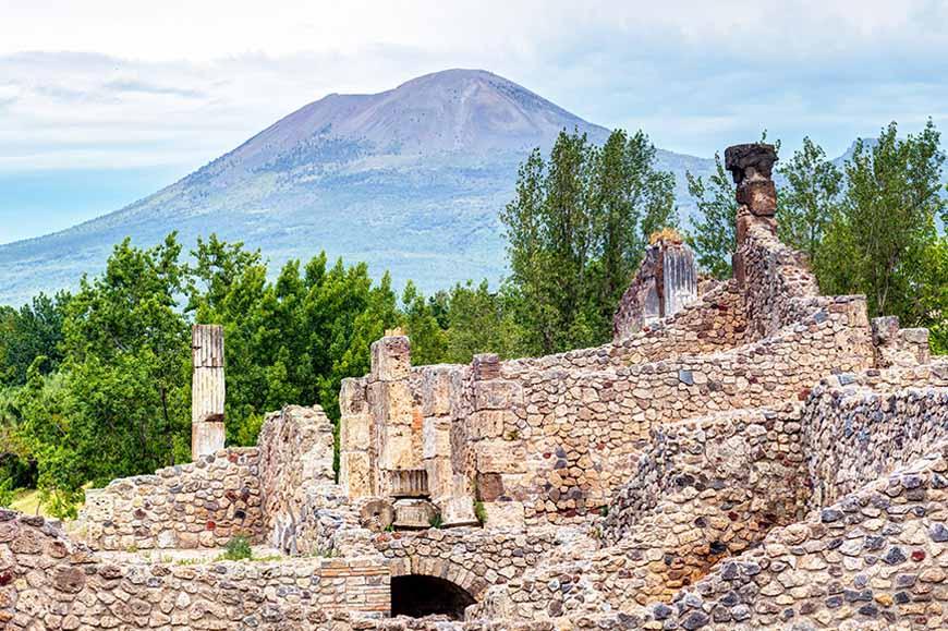 Italy - Mount Vesuvius