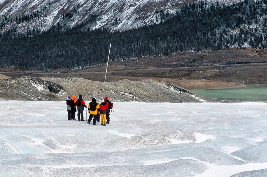 Canada - Banff - Athabasca Glacier