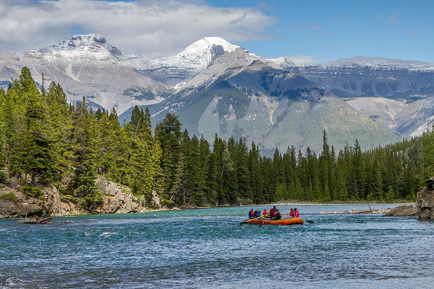Jasper - River Rafting