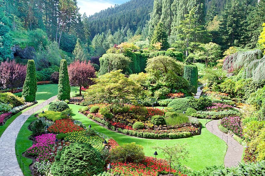 Canada - Vancouver - Victoria on Vancouver Island including Butchart Gardens