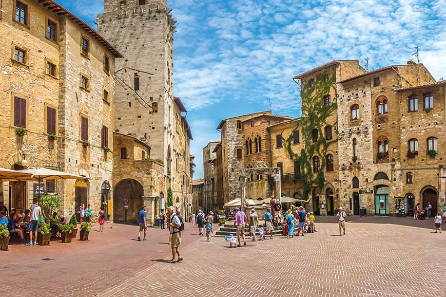 Italy - San Gimignano and Volterra