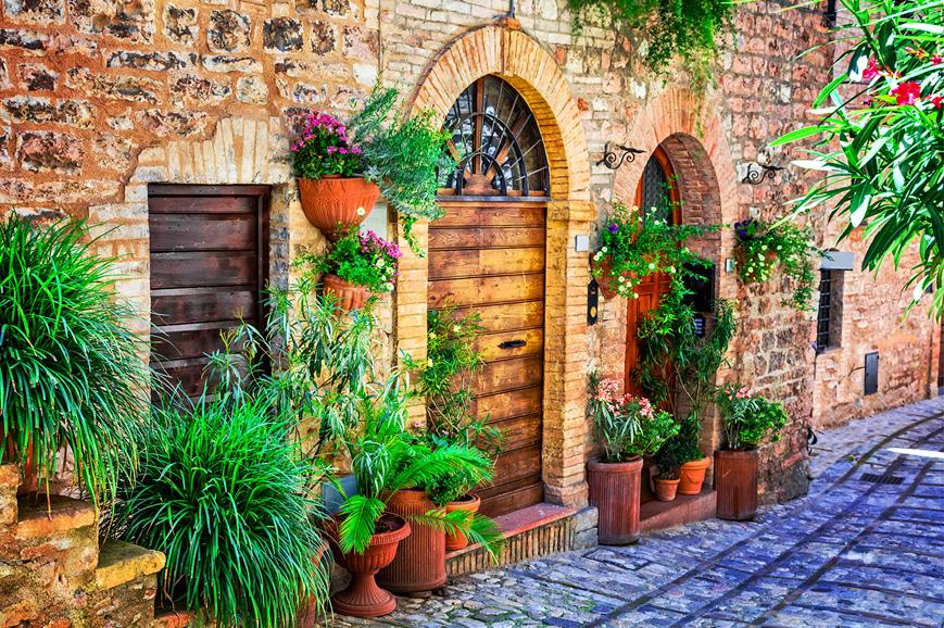 Italy - Foligno and Spello