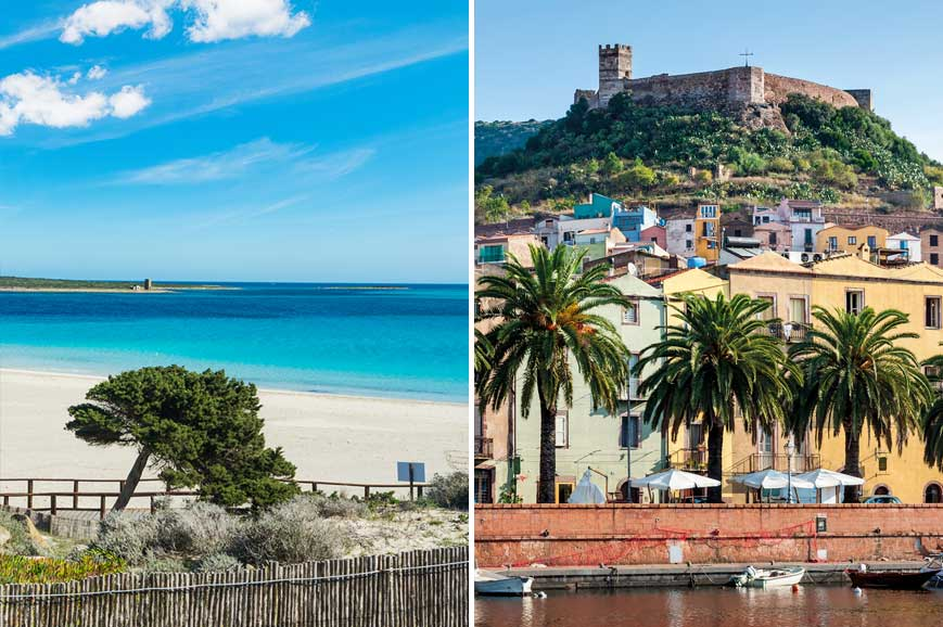 Sardinia Prebookable Package - Sassari amd Stintinos Glorious Beach/ Tinnura, Bosa and River Cruise