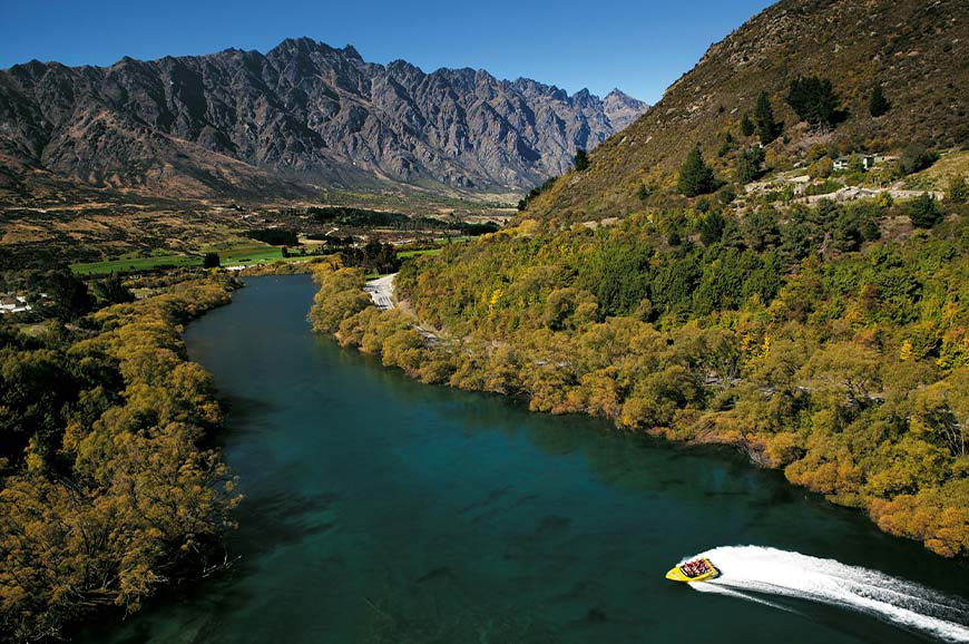 New Zealand - Jet Boat ride - Queenstown