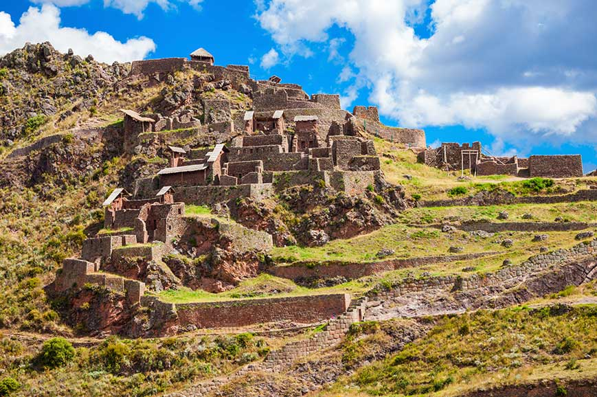 Peru - Sacred Valley of the Incas and Ollantaytambo