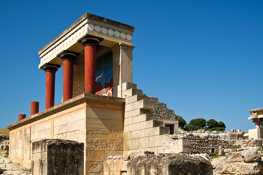 Heraklion and the Palace of Knossos