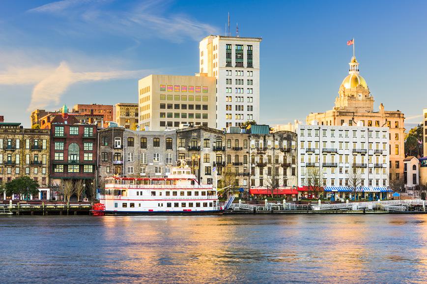 USA - Savannah Trolley-Bus City Tour