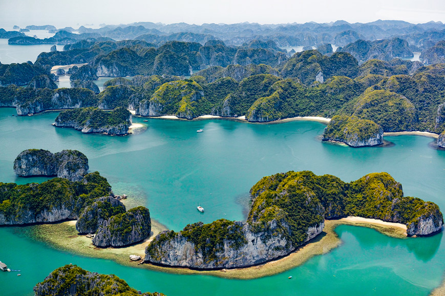Halong Bay - Seaplane Experience